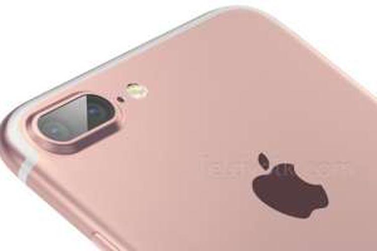 Bocoran foto iPhone 7 dengan kamera ganda