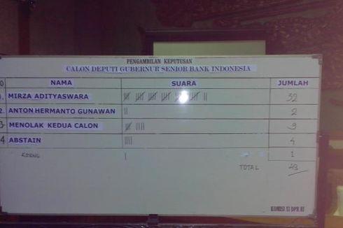 Mirza Adityaswara Terpilih Jadi Deputi Gubernur Senior BI