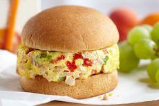 Resep Burger Telur, Sarapan Enak Hanya 5 Bahan