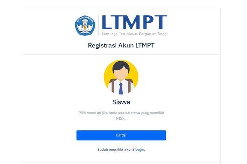 Cara Registrasi Akun LTMPT untuk UTBK-SBMPTN 2021