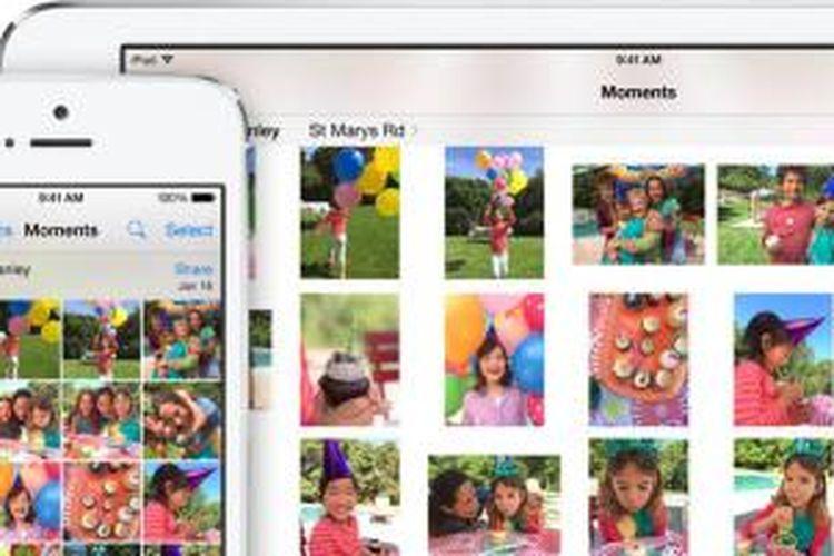 Fitur Photos di iOS 8.