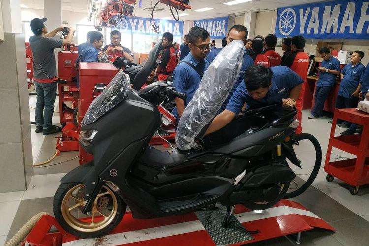 Mesin Yamaha NMAX generasi baru
