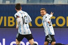 Babak I Bolivia Vs Argentina - Lionel Messi Brace, Tim Tango Unggul Telak