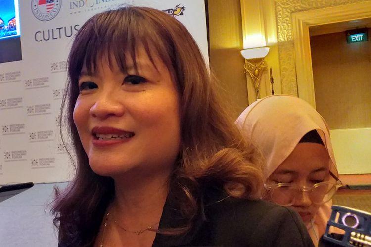 Wakil ketua Umum Asosiasi Pengusaha Ritel Indonesia (Aprindo), Shinta Widjaja Kamdani