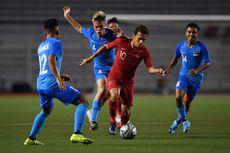 SEA Games 2019, Timnas U23 Singapura Kena Sidak Jam Malam