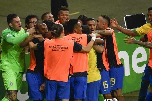 Brasil Vs Argentina, Tim Samba ke Final Copa America, Messi Gagal Lagi