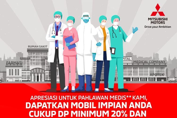 Apresiasi Mitsubishi untuk tenaga medis