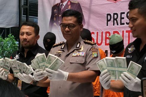 Polisi Gagalkan Penjualan 300.000 Dollar Palsu di Tangsel