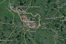 Tempat Penampungan Pengungsi di Bremen Dilalap Api, 37 Orang Terluka