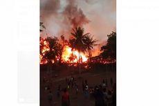 Tangis dan Teriakan Warga Sumba Saat 22 Rumah Adat Hangus Terbakar