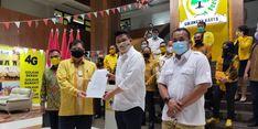 Golkar Resmi Dukung Bobby di Pilwakot Medan, Airlangga: Bobby Punya Kompetensi