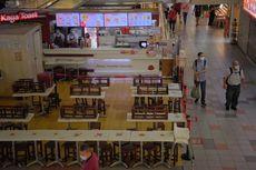 Pasca Lockdown Parsial, Pasar dan Pusat Jajanan di Singapura Sepi