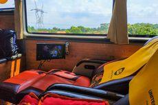 Mengenal Fitur Penunjang Kenyamanan Kaki pada Bus AKAP