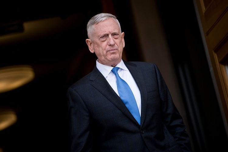 Menteri Pertahanan AS, Jim Mattis.