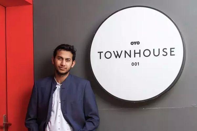 CEO OYO Rooms, Ritesh Agarwal.