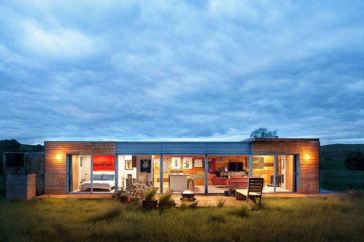Ilustrasi Rumah kontainer