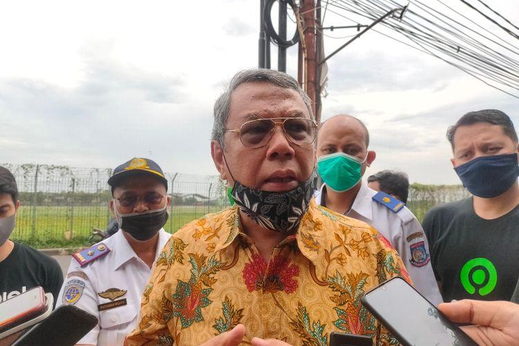 Wakil Wali Kota Tangerang Selatan Benyamin Davnie ketika ditemui wartawan di kawasan Pondok Cabe Ilir, Pamulang, Tangerang Selatan, Rabu (14/7/2020)