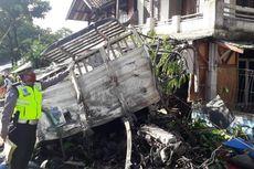 Detik-detik Truk Tabrak Dua Orang di Bahu Jalan Hingga Tewas di Cianjur