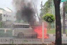 Alphard Terbakar di Pondok Indah, Ini Kata Toyota Indonesia