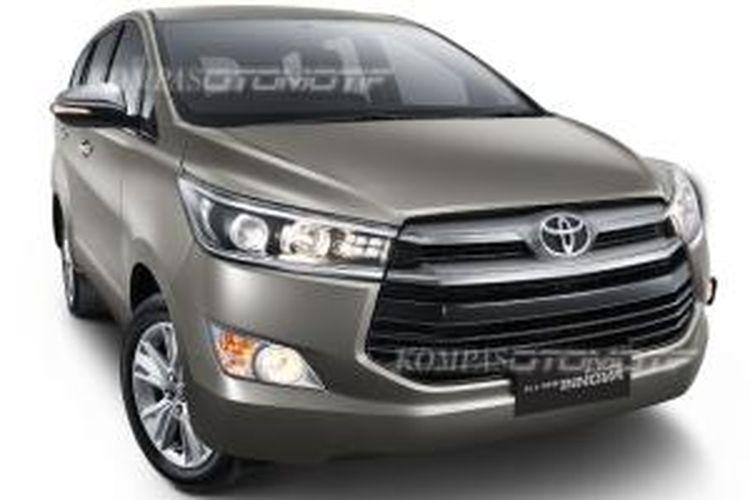Toyota Kijang Innova terbaru tampil lebih mewah dan berkelas