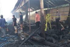 Diduga Korsleting, 2 Gudang Limbah Kayu di Ngawi Terbakar, Kerugian Ditaksir Rp 80 Juta