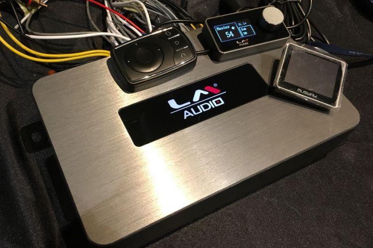 Produk baru penunjang audio mobil LM-808 dari Kramat Motor.