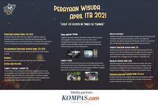 Perayaan Wisuda April ITB 2021, dari Massa Kampus untuk Wisudawan