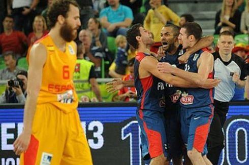 Perancis Juara Basket Eropa