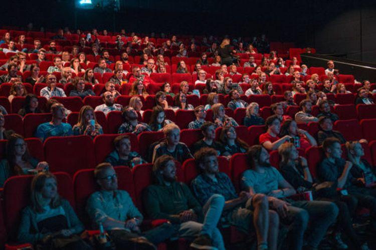 Ilustrasi bioskop di Inggris