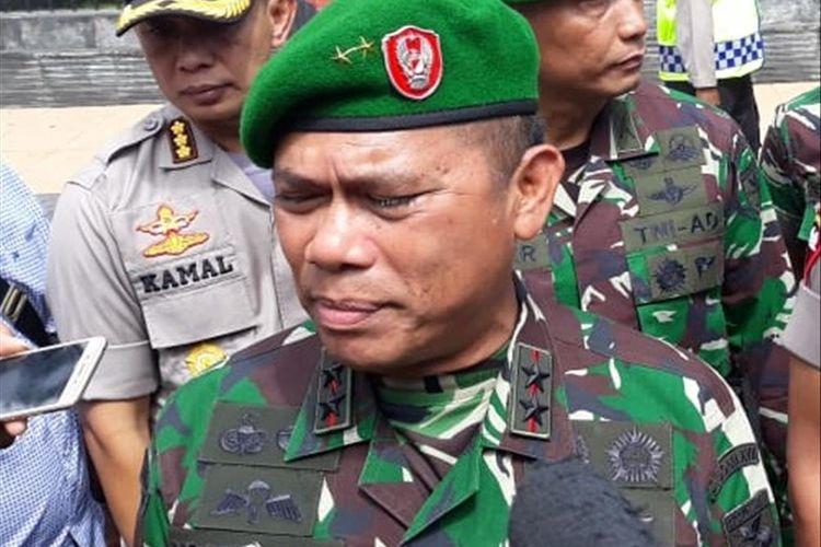 Panglima Kodam (Pangdam) XVII/Cenderawasih Mayjen TNI Yosua P Sembiring