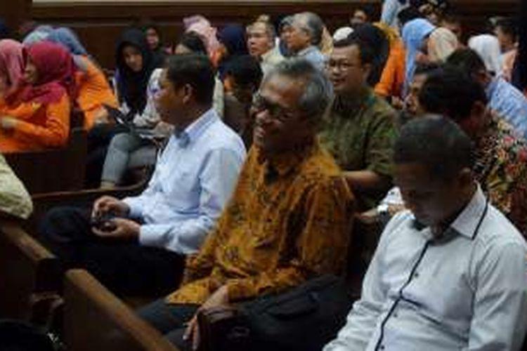 Direktur Utama Perum Bulog Djarot Kusumayakti di Pengadilan Tipikor Jakarta, Selasa (20/12/2016).