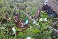 Hujan dan Angin Kencang, Pohon-pohon Tumbang dan Rusak Rumah Warga Kulon Progo