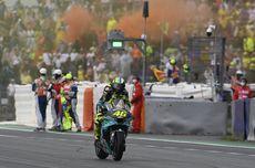 Momen Valentino Rossi Sapa Fans Usai GP Emilia Rogmana