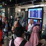 Viral Foto Antrean di Terminal 2 Bandara Soekarno-Hatta, Ini Penerapan Jaga Jarak di Bandara