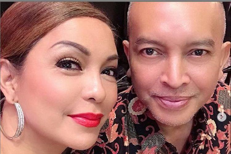 Soraya Haque dan suaminya, Ekki Soekarno.
