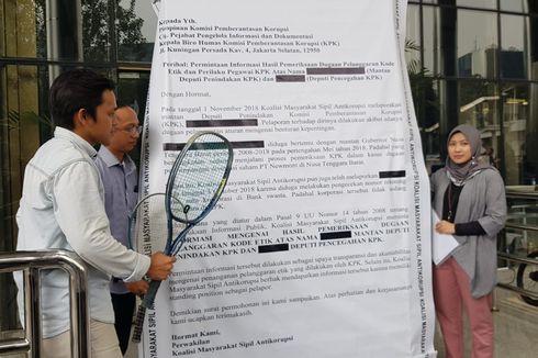Datangi KPK, ICW Minta Laporan Atas Dua Deputi Diusut Tuntas