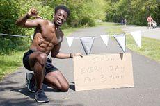 Lari Setiap Hari Selama 3 Tahun, Apa yang Dirasakan Pria Ini?
