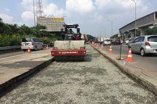 Waspada Kemacetan, Tol Jagorawi Arah Puncak Ada Perbaikan Jalan