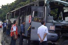 Korsleting AC, Bus Transjakarta Terbakar