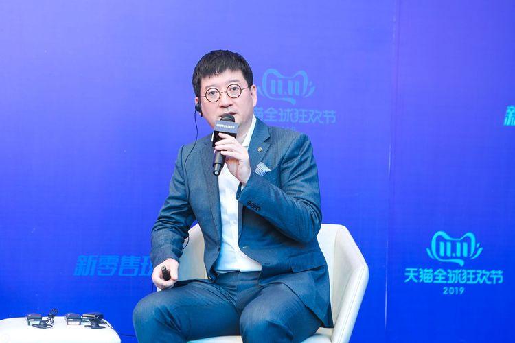 Vice President of Alibaba Group yang juga CEO Intime Chen Xiadong