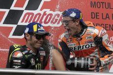 Insiden Kualifikasi MotoGP San Marino 2019, Marquez Salahkan Rossi