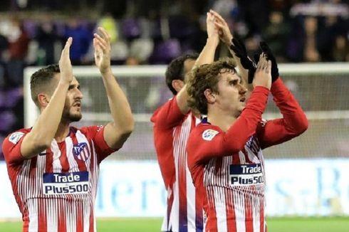 Hasil Liga Spanyol, Atletico Samai Barcelona, Madrid Geser Sevilla