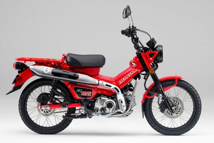 Motor bebek adventure Honda CT125 resmi meluncur di Indonesia