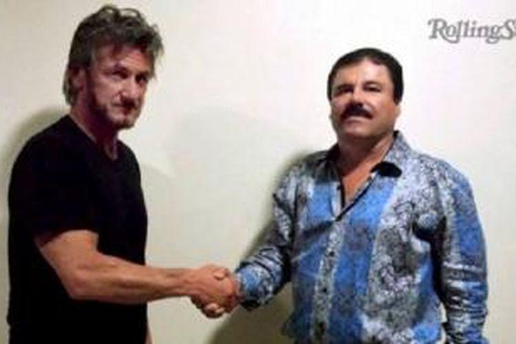 Wawancara Sean Penn dengan gembong narkoba Joaquin