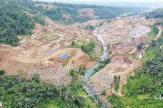 Konstruksi Bendungan Meninting Lombok Barat Baru 6,5 Persen