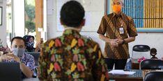 Pantau Protokol Kesehatan, Ganjar Harap Sekolah Punya Satgas