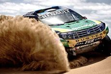 Renault Duster Siap Lahap Rally Dakar 2014