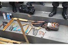 Senjata Tajam dan Senpi Rakitan Disita dari Peserta Kongres HMI
