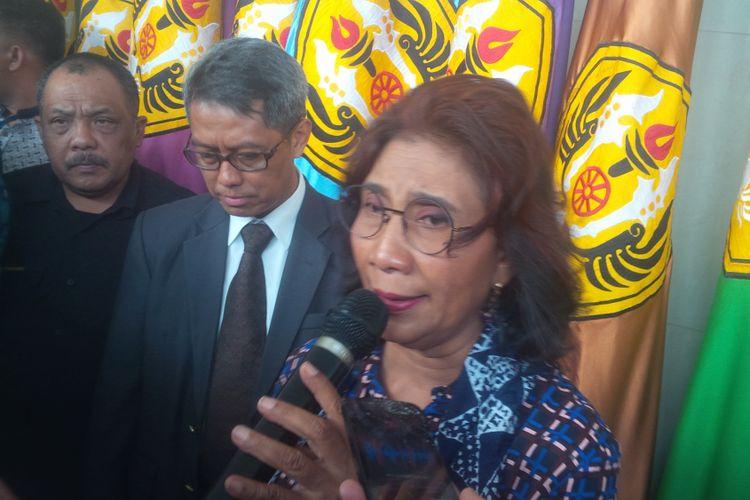 Menteri Kelautan dan Perikanan RI Susi Pudjiastuti
