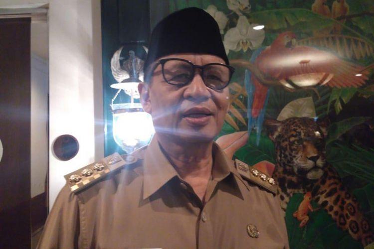 Gubernur Banten Wahidin Halim di Hotel Borobudur, Jakarta Pusat, Senin (2/7/2018).